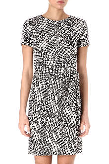 DIANE VON FURSTENBERG Brie cloud-print dress