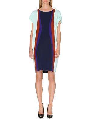 DIANE VON FURSTENBERG Harriet colour-blocked dress