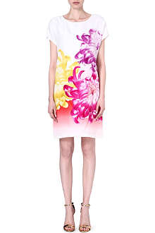 DIANE VON FURSTENBERG Harriet floral-print silk dress