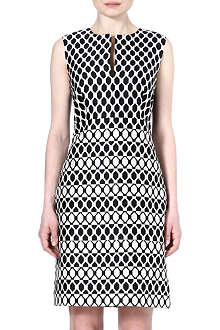 DIANE VON FURSTENBERG Yvette diamond print dress