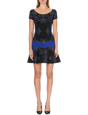 DIANE VON FURSTENBERG Alina jacquard-knit dress