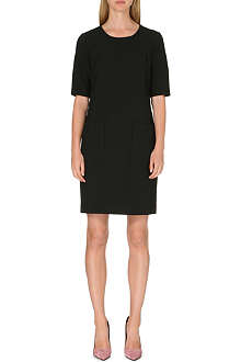 DIANE VON FURSTENBERG Stretch-crepe shift dress
