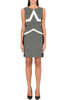 DIANE VON FURSTENBERG Geometric print shift dress
