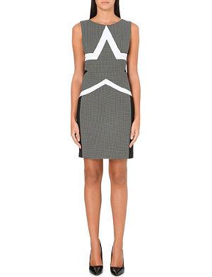 DIANE VON FURSTENBERG Geometric print shift dress