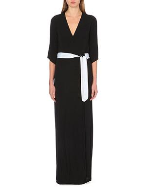 DIANE VON FURSTENBERG Aurora maxi wrap dress