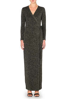 DIANE VON FURSTENBERG Emma maxi wrap dress
