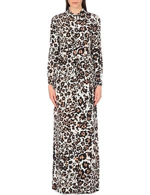 DIANE VON FURSTENBERG Amina floral-print silk maxi dress