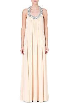 DIANE VON FURSTENBERG Willemma embellished silk gown