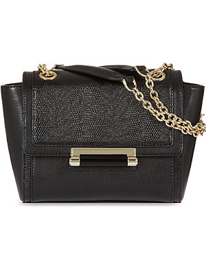 DIANE VON FURSTENBERG Mini reptile shoulder bag