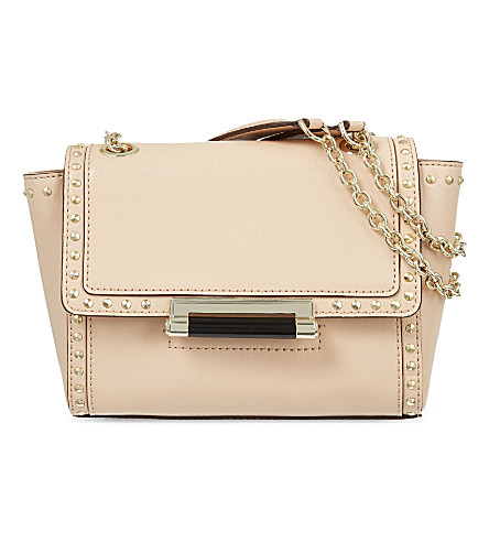 DIANE VON FURSTENBERG Mini studded 440 shoulder bag (Vachetta