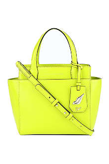DIANE VON FURSTENBERG Mini leather tote