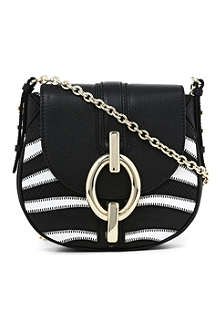 DIANE VON FURSTENBERG Sutra mini patchwork cross-body bag