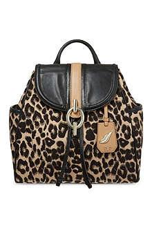 DIANE VON FURSTENBERG Leopard backpack