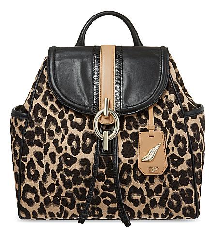 DIANE VON FURSTENBERG Leopard backpack (Leopard