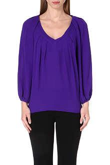 DIANE VON FURSTENBERG Cahil silk blouse