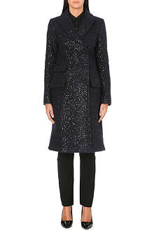 DIANE VON FURSTENBERG Long sequinned coat