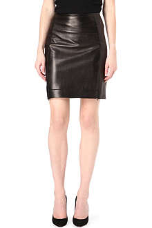 DIANE VON FURSTENBERG Rita leather pencil skirt