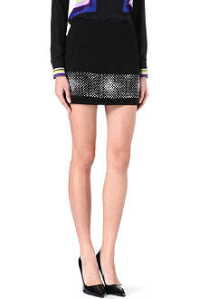 DIANE VON FURSTENBERG Elley studded mini skirt