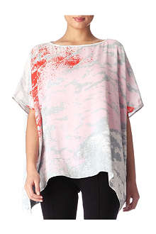 DIANE VON FURSTENBERG New Hanky Two top