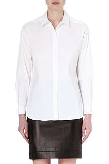 DIANE VON FURSTENBERG Malila stretch-cotton shirt
