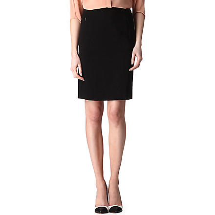DIANE VON FURSTENBERG New Koto pencil skirt (Black