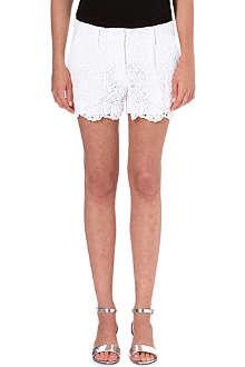 DIANE VON FURSTENBERG Lace shorts
