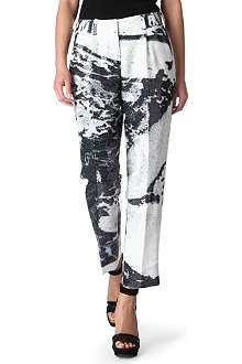 DIANE VON FURSTENBERG Naples sequinned trousers