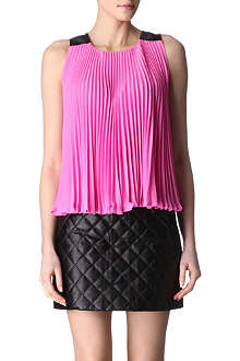 DIANE VON FURSTENBERG Idaline pleated top