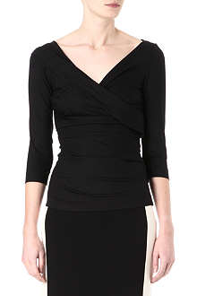 DIANE VON FURSTENBERG Bentley jersey top