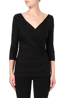DIANE VON FURSTENBERG Bentley wrap top