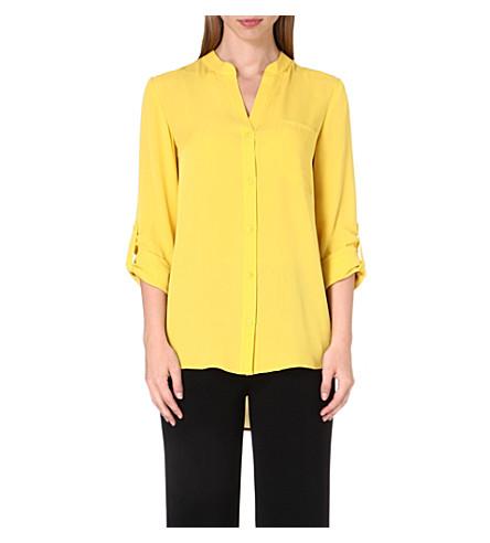 DIANE VON FURSTENBERG Gilmore silk shirt (Glowlight