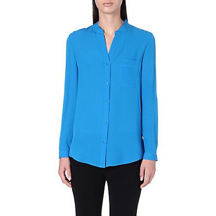 DIANE VON FURSTENBERG Gilmore silk shirt (Topaz
