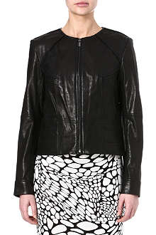 DIANE VON FURSTENBERG Reza leather jacket
