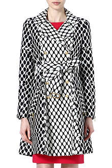 DIANE VON FURSTENBERG Michelle Diamond trench coat