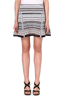 DIANE VON FURSTENBERG Flote stretch-knit skirt