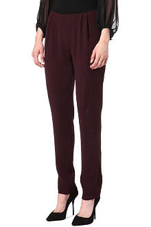 DIANE VON FURSTENBERG Billy pleated trousers
