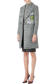 DIANE VON FURSTENBERG Nala checked coat