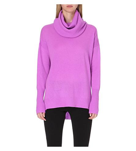 DIANE VON FURSTENBERG Cashmere roll-neck jumper (Purple