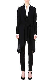 DIANE VON FURSTENBERG Mary Kate long wrap-around cardigan