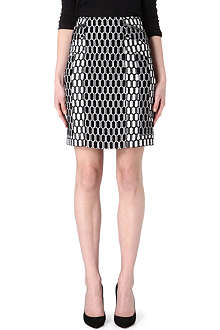 DIANE VON FURSTENBERG Laury jersey-knit pencil skirt