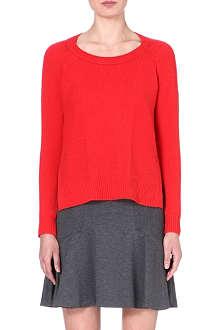 DIANE VON FURSTENBERG Knitted cashmere jumper