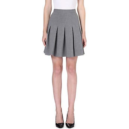 DIANE VON FURSTENBERG Gemma pleated skirt (Fog