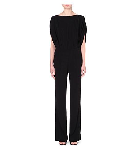 DIANE VON FURSTENBERG Dezi crepe jumpsuit (Black