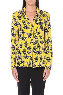 DIANE VON FURSTENBERG Lorelei silk-blend shirt