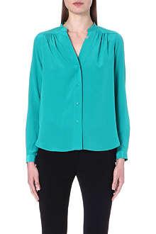 DIANE VON FURSTENBERG Harlow ruched blouse