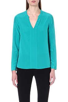 DIANE VON FURSTENBERG Irina silk blouse
