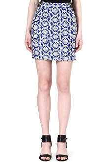 DIANE VON FURSTENBERG Madra tweed mini-skirt
