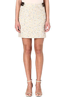 DIANE VON FURSTENBERG Dessa tweed mini skirt