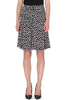 DIANE VON FURSTENBERG Rosalita printed stretch-silk skirt