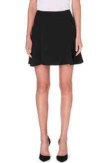 DIANE VON FURSTENBERG Flared stretch-crepe mini skirt